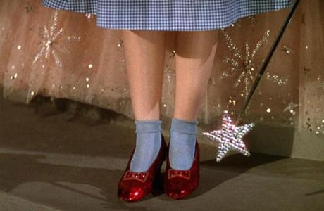 Garland's ruby slippers will be more eye-popping than ever in 3-D.